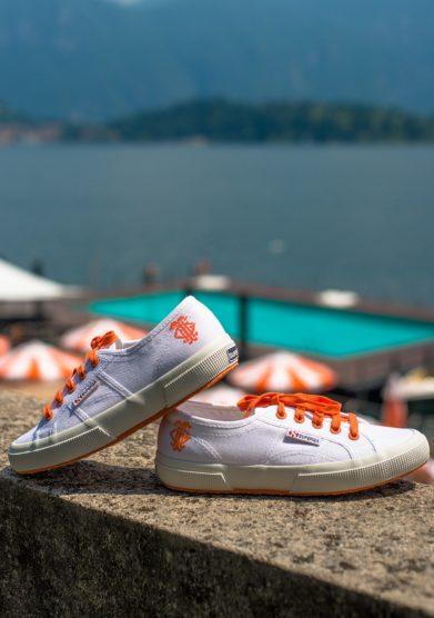 Grand hotel tremezzo Sneakers Superga 2750 edizione limitata GHT bianche