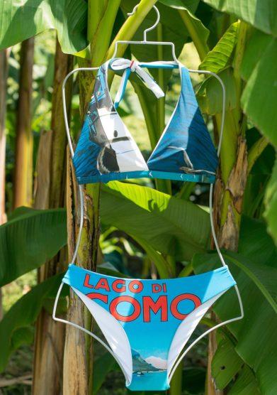 Grand hotel tremezzo bikini Lago di Como modello Menaggio Battelli
