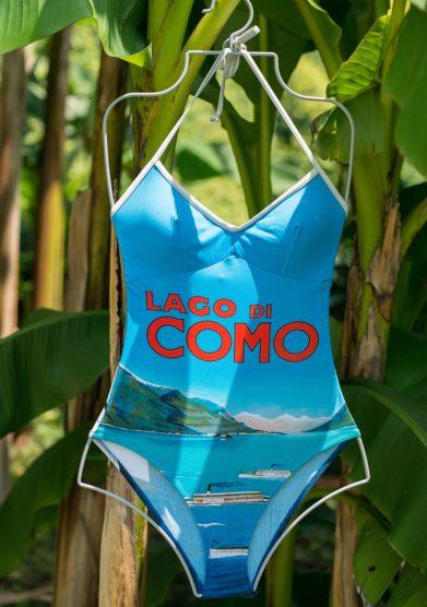 Grand hotel tremezzo costume intero Lago di Como modello Cernobbio Gabbiani