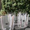 Bicchieri collezione Murano Carlo Moretti modello Bora neutri