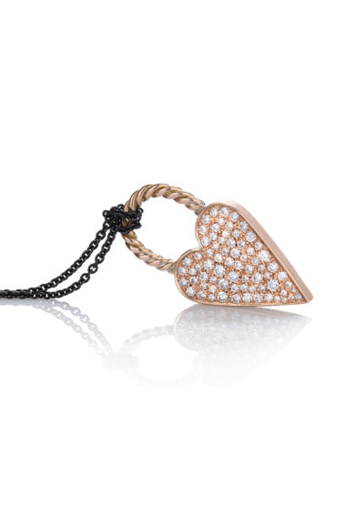 Otto Jewels oro Love Lock Super diamanti