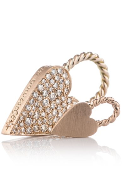 collana otto jewels Love Lock Oro Super con diamanti