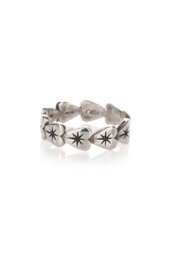 Otto jewels anello Eternity Micro Cuori