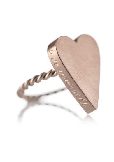 anello Love Yourself Oro Maxi otto jewels
