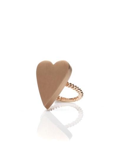 Otto Jewels anello oro cuore Extreme
