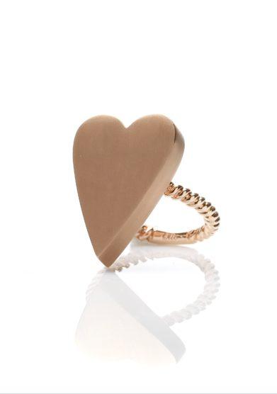 Otto jewels anello cuore extreme oro