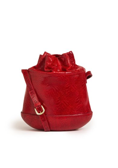 TL180 borsa secchiello the marcello exotic red