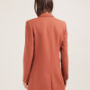 Annagiulia Firenze blazer mattone lana back