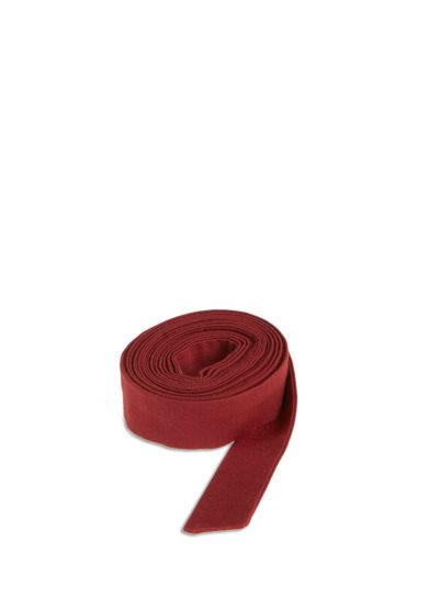 Montegallo nastro decorativo cappello bordeaux