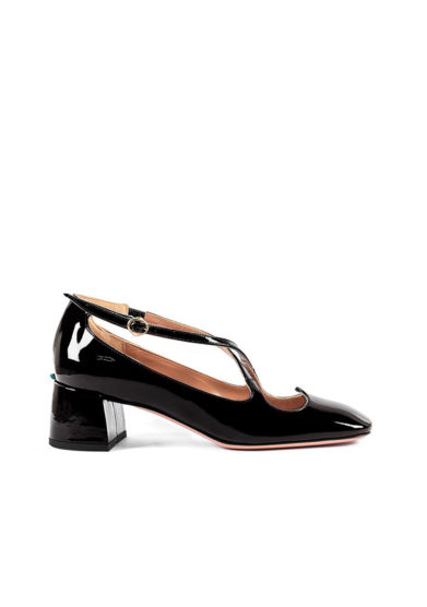 A. Bocca pump two for love vernice nera