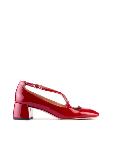 A. Bocca pump two for love vernice rubino