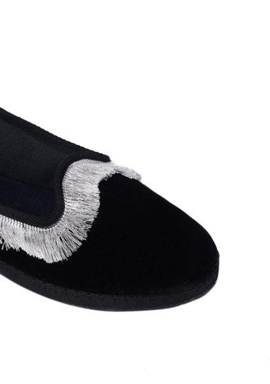friulane friù venezia velluto nero frangia argento allagiulia