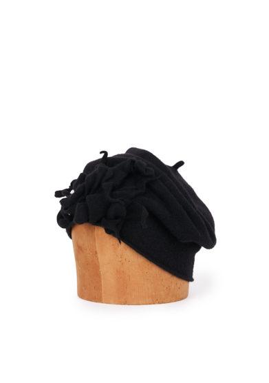 Altalen cappello berretto feltro nero lana