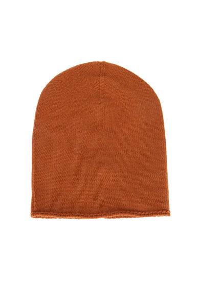 Alyki cappello color cognac cashmere
