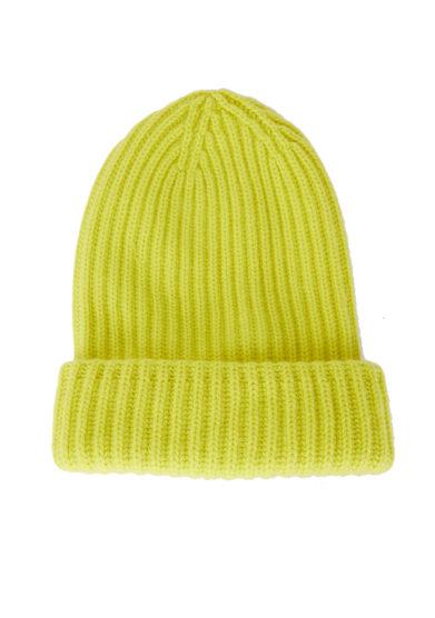 Alyki cappello giallo cashmere