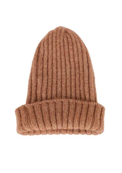 Alyki cappello cashmere color marrone