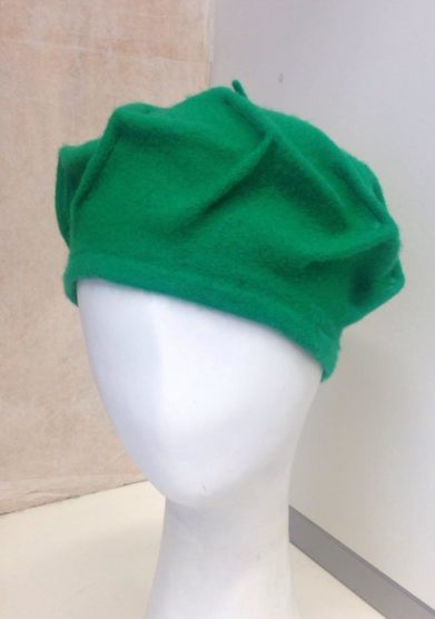 Altalen cappello basco verde lana