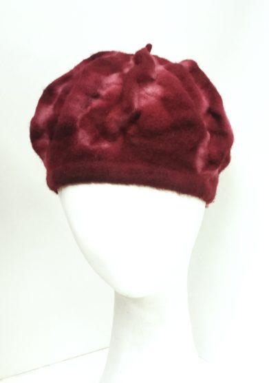 Altalen cappello rosso lana tinto mano tinture naturali edizione limitata