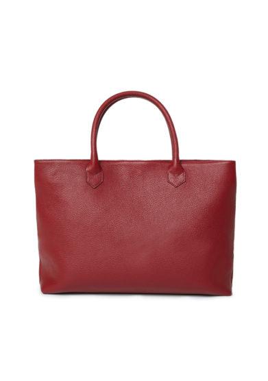borsa shopping rosso cranberry amira bags