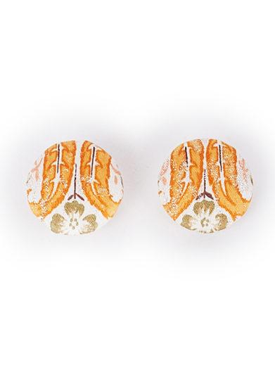 Il Borro bottoni arancione tessuto vintage