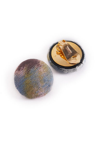 Il Borro orecchini kat vintage tessuto
