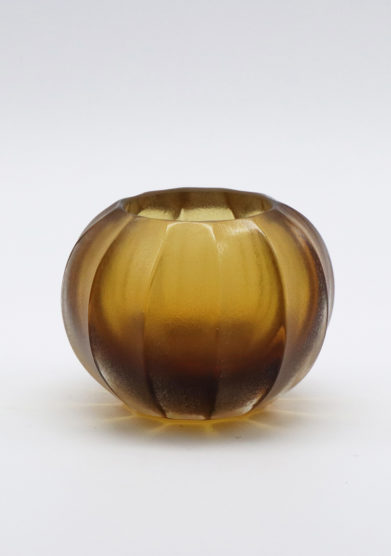 Micheluzzi Glass vaso miele Bocia vetro murano