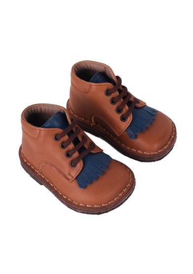 PèPè Children scarpe pelle capra marrone