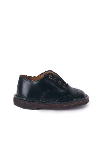 PèPè Children scarpe classiche bimbo verde scuro