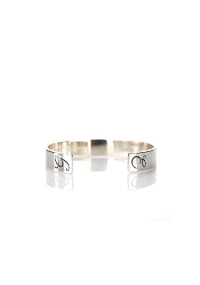 Roberto callegari family bangle in argento personalizzabile