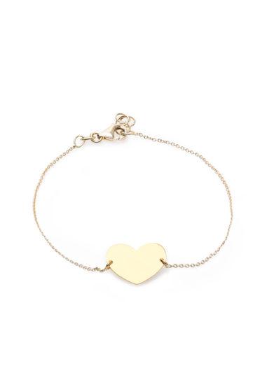 Isabì Isabella Pangrazi bracciale cuore oro giallo