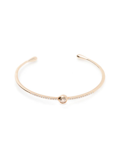 Isabì Isabella Pangrazi bracciale rigido tennis oro rosa diamanti