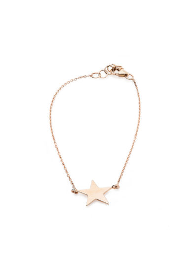 Isabì Isabella Pangrazi bracciale oro rosa stella