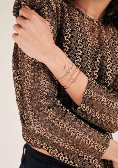 Isabì Isabella Pangrazi bracciali oro e diamanti