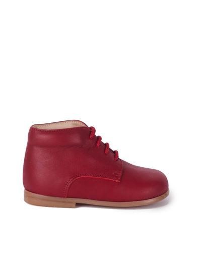 PèPè Children scarpe primi passi pelle capra rosse