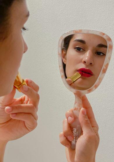 specchio a mano Bluetiful Milano