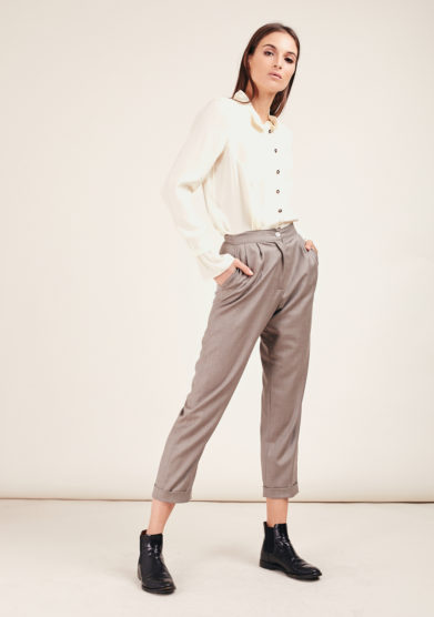 Chiara bloom pantalone perfect pants lana