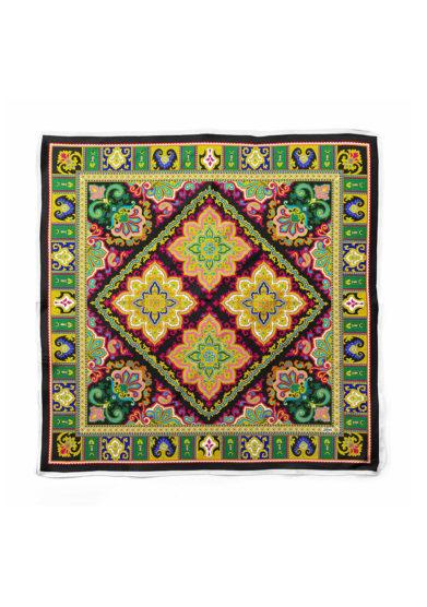 Serà fine silk foulard in seta madame butterfly