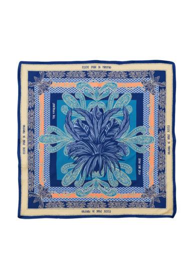 Serà fine silk foulard seta stampa eclectic spring in portofino