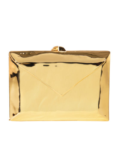 Clutch love letter metallica oro Virginia Severini