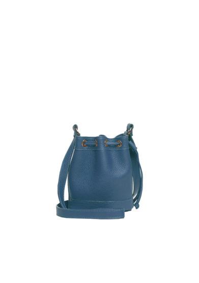 mini secchiello blu amira bags