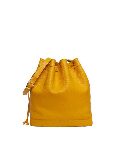secchiello grande giallo Amira Bags