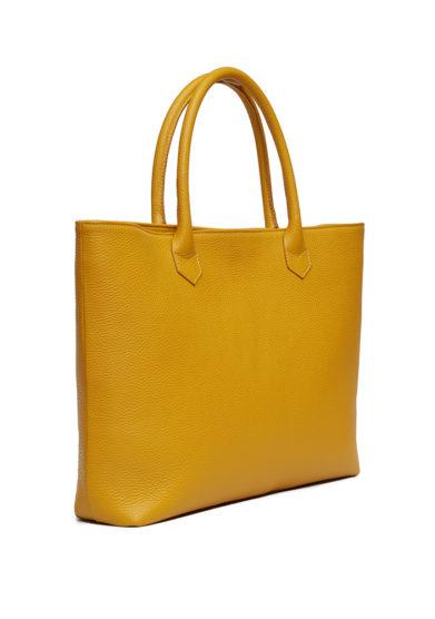 laterale shopping bags amira bags senape