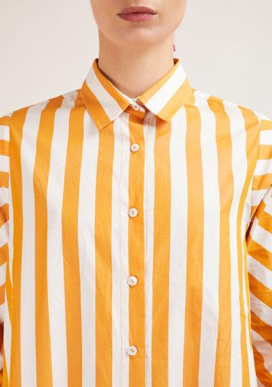 vestito alyki capri in cotone a righe