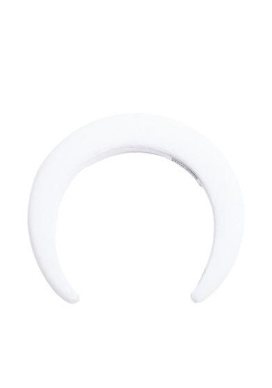 bluetiful milano cerchietti in velluto bianco