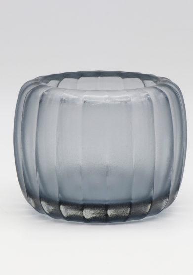 Micheluzzi glass vaso pozzo acciao