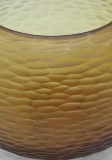 vaso puffo miele micheluzzi glass