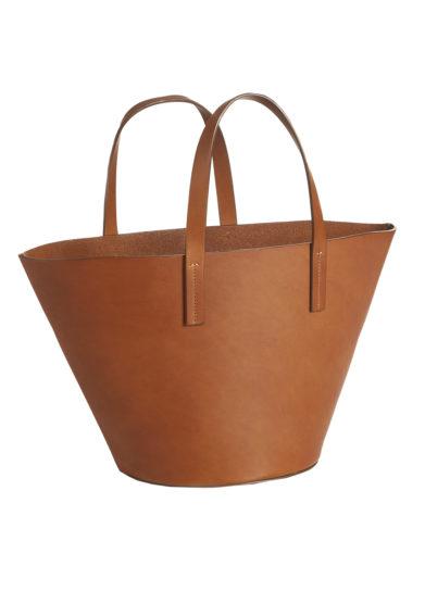 borsa la cesta cuoio Montegallo made in italy