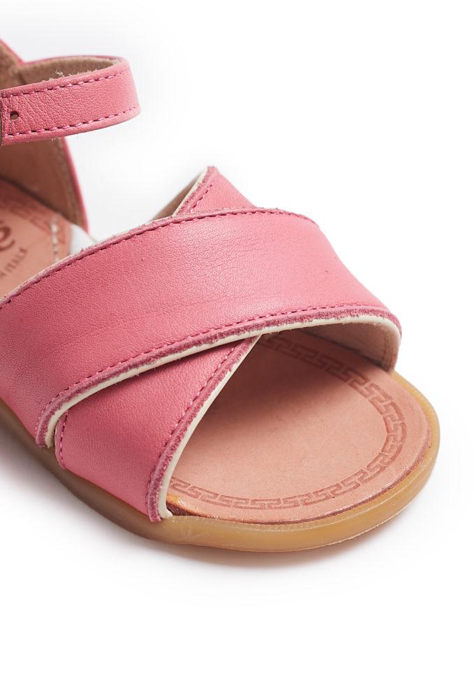 sandalo pepè primi passi heritage rosa acceso