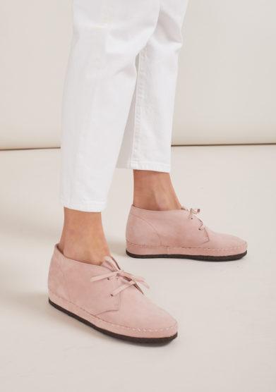 socksi milano scarpa costanza polacchina rosa