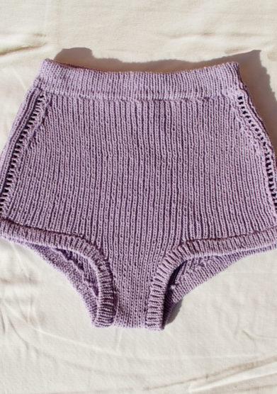 culotte in cotone lilla 16R